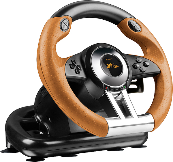 Speed-link DRIFT O.Z. Racing Wheel, black-orange