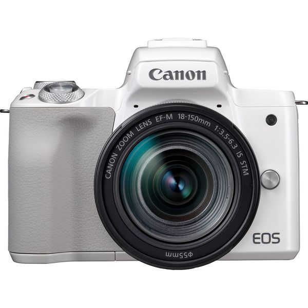 Canon EOS M50 18-150 IS STM baltas