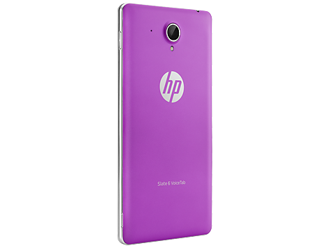 HP Slate6 VT Purple Back Cover