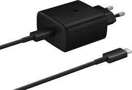 TA845XBE Travel Quick charger Type-C to Type-C, 45W, 1m (Black)