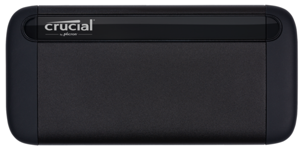 Crucial Portable SSD X8 500 GB, USB 3.1, Black