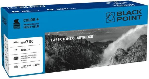 Toner Black Point LCBPOC510C | cyan | 6000 pp | Oki 44469724