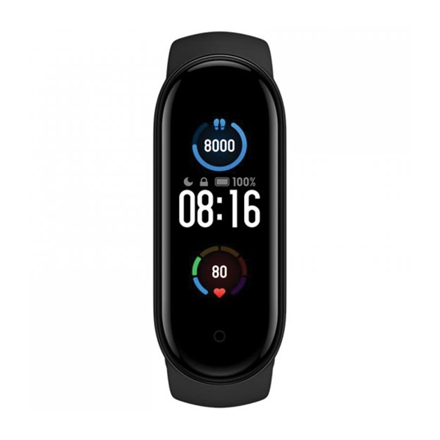 Xiaomi Mi Band 5 Fitness tracker, AMOLED, Heart rate monitor, Waterproof, Bluetooth, Black