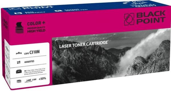 Toner Black Point LCBPOC310M | magenta | 3000 pp | Oki 44469705