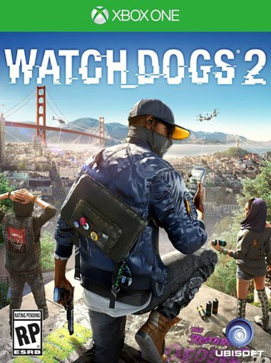 Watch Dogs 2 žaidimas, skirtas XBOX ONE konsolei