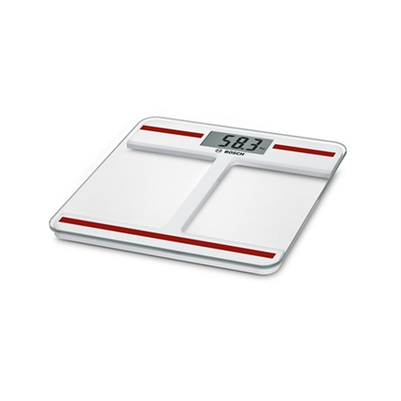 Bosch Bathroom scale PPW4202 Maximum weight (capacity) 180 kg, Accuracy 100 g, White