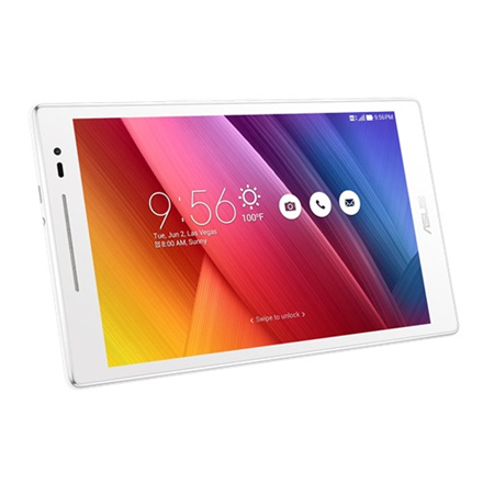 "Asus Zenpad Z380KLN 8.0 "", Pearl White, Multi-touch, IPS, 1280 x 800 pixels, Qualcomm, MSM8916, 1 GB, 16 GB, Bluetooth, 4.0, 802.11 b/g/n, 4G, Front camera, 2 MP, Rear camera, 5 MP, Android, 6.0, Warranty 24 month(s)"