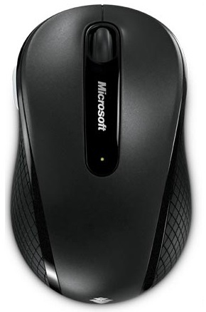 Microsoft Wireless Mobile Mouse 4000 USB Black