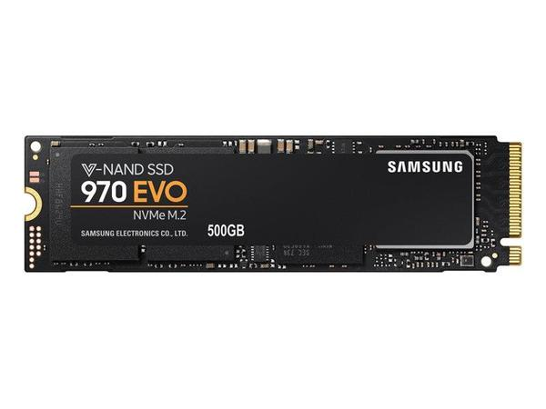 Samsung SSD 970 EVO NVMe M.2 PCIe 500GB, 3400/2300MB/s, warranty 5 years