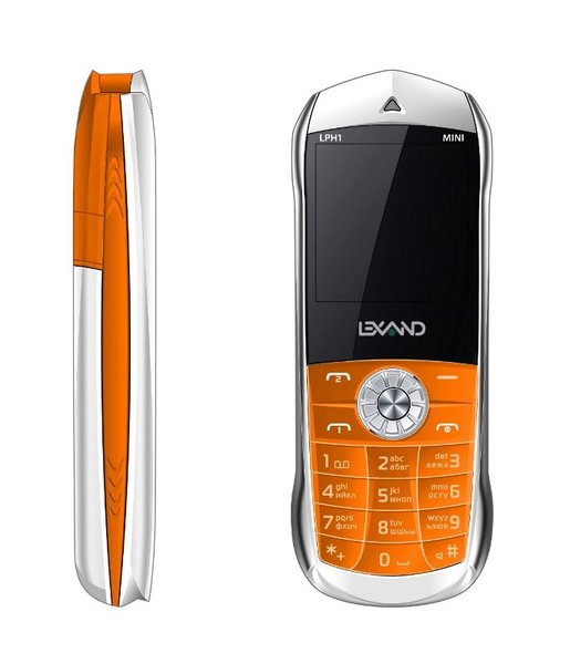"Lexand LPH 1 Mini orange | Dual-SIM | 1.44"" spalvotas ekranas 