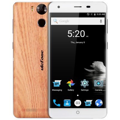 "Ulefone Power Wood | DUAL-SIM* | 5.5"" 1080x1920 LTPS GG3 