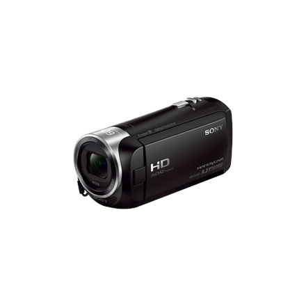 "Sony HDR-CX405B juoda vaizdo kamera/ SteadyShot/Full HD rec./ Exmor R™CMOS/ 30x optical zoom/ BIONZ X/ 2.7""(6.7cm) Xtra Fine LCD/ up to 9.2MP photo/ Face Detection/ HDMI output/ Media: Memory Stick micro, SD/SDHC/SDXC"