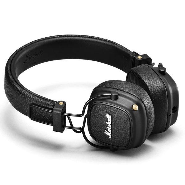 6a0e87ce9d8 00199740 Marshall Major III Bluetooth Black Wireless Headphones ...
