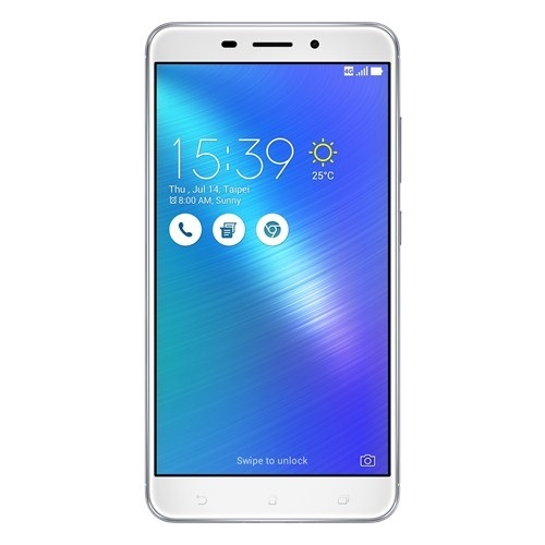 "Asus ZenFone 3 Laser ZC551KL Silver, 5.5 "", IPS, 1920x1080 pixels, Qualcomm Snapdragon, 430, Internal RAM 2 GB, 32 GB, microSD up to 128GB, Dual SIM, 3G, 4G, Main camera 13 MP, Second camera 8 MP, Android, 6.0, 3000 mAh, Warranty 24 month(s)"