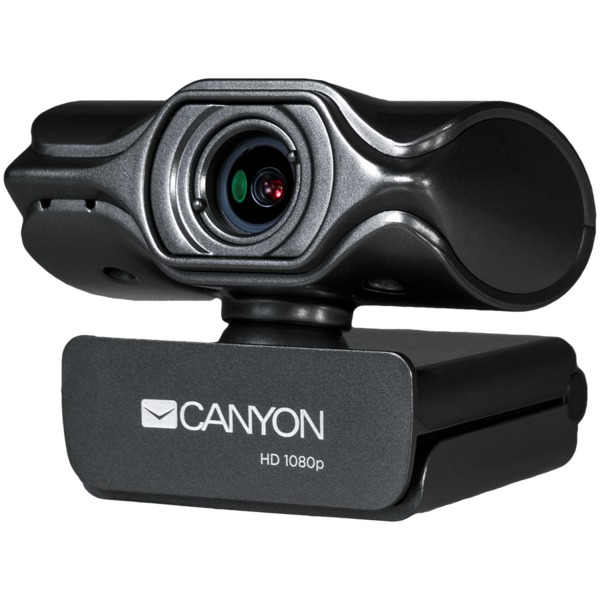 Canyon CNS-CWC6 2K Quad HD live streaming Webcam | Microphone with automatic noise reduction