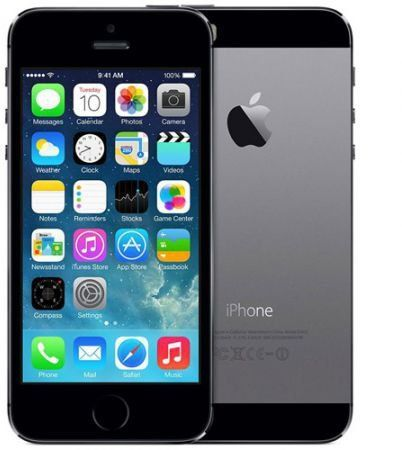 "Apple iPhone 5s 16GB Black | Gamykliškai atnaujintas* | 4.0"" 640x1136 