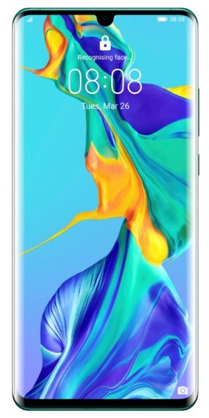 Huawei P30 Pro|Built-in Memory 128 GB|RAM 6GB|Aurora blue|3G|LTE|OS Android 9.0 (Pie)|Screen 6.47"