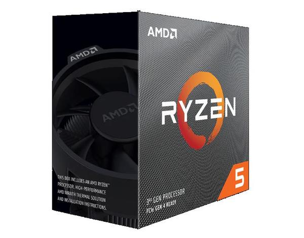 AMD Ryzen 5 3600X, 6C/12T, 4.4 GHz, 36 MB, AM4, 95W, 7nm, BOX (su aušintuvu)