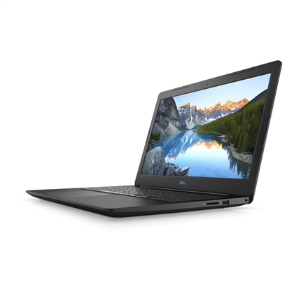 "Dell G3 15 3579 Black, 15.6 "", IPS, Full HD, 1920 x 1080 pixels, Matt, Intel Core i7, i7-8750H, 8 GB, DDR4, SSD 256 GB, NVIDIA GeForce 1050 Ti, GDDR5, 4 GB, Windows 10 Home, 802.11ac, Bluetooth version 5.0, Keyboard language English, Keyboard backlit, Warranty 36 month(s), Battery warranty 12 month(s)"