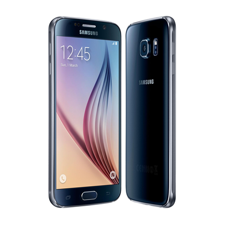 "Samsung Galaxy S6 G920F Black, 5.1 "", Super AMOLED, 2560 x 1440 pixels, Exynos, 7420 Octa, Internal RAM 3 GB, 32 GB, Single SIM, Nano-SIM, 3G, 4G, Main camera 16 MP, Second camera 5 MP, Android, 5.0.2, 2550 mAh, Warranty 24 month(s)"