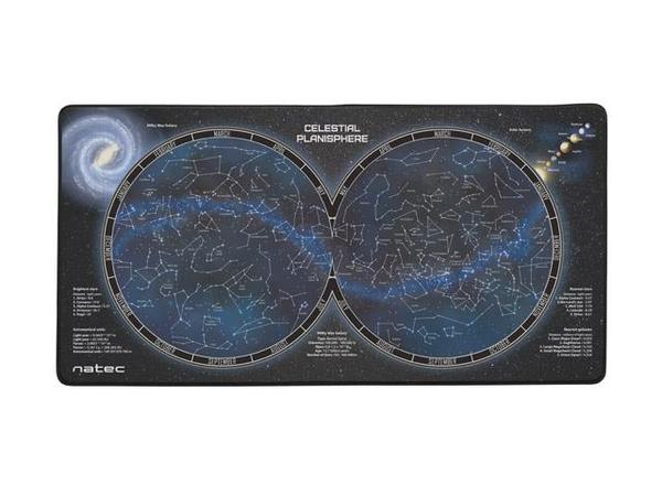 Map X.Npo 1299 Natec Office Mouse Pad Univers Map 800 X 400 Katalogas