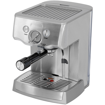 Gastroback Coffee maker Design Espresso Pro  42709 Pump pressure 15 bar, Built-in milk frother, Semi automatic, 1000 W, Stainless steel