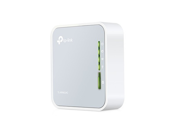 TP-LINK TL-WR902AC Dual Band AC750 Wi-Fi Wireless Travel Portable and Compact Router