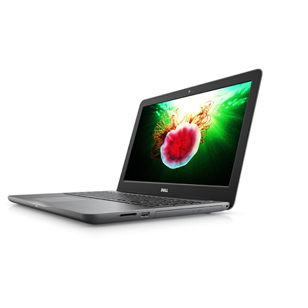 Dell Inspiron 15 5567 Silver - 15.6 FHD (1920x1080) AntiGlare | Intel Core i5-7200U | 8GB DDR4 | SSD 256GB | AMD Radeon R7 M445 GDDR5 4GB | DVD+/-RW | Linux | 802.11ac, Bluetooth version 4.2 | Keyboard language English | Battery warranty 12 month(s)