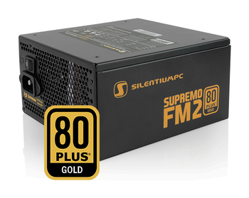 SILENTIUMPC Supremo FM2 650W Fully Modular, 80Plus Gold, Silent fan, 5 year warranty