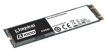 Kingston SSD A1000 M.2 2280 NVMe, 480GB, up to 1500/900MB/s