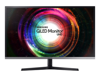 Samsung U32H850UMU LED monitorius su VA ir AMD FreeSync technologijomis | 31.5 colių | 3840x2160@60Hz | Reakcijos laikas: 4ms | Peržiūros kampas: 178°/178° | Jungtys: HDMI, mini DisplayPort, USB | Tilt, Swivel, Pivot, Height adjustment, VESA