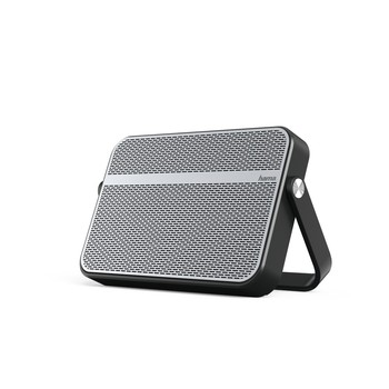 HAMA Blade Mobile Bluetooth Speaker, silver/black