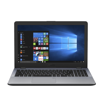 "Asus VivoBook X542UQ Grey, 15.6"" FHD (1920x1080) Anti-Glare 
