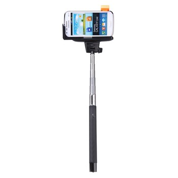 HOLDER SELFIE 2in1 with bluetooth shutter BLACK