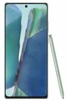 "Samsung Galaxy Note20 N980F Green, 6.7 "", Super AMOLED, 1080x2400 pixels, Exynos 990, Internal RAM 8 GB, 256 GB, Dual SIM, Nano-SIM, 3G, 4G, Main camera 64 + 12 +12 MP, Secondary camera 10 MP, Android, 10, 4300 mAh"
