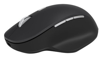 Microsoft Surface Precision Black Bluetooth Wireless Laser Mouse with 6 buttons
