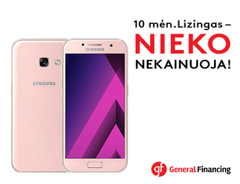 "Samsung Galaxy A3 (2017) Pink | Galaxy Care | 4.7"" HD 720x1280 