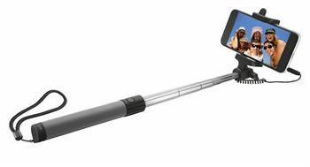UR WIRED FOLD SELFIE STICK-BLK