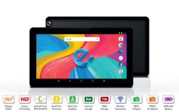 "eSTAR Tablet 1198 GRAND 10.1"" Black"