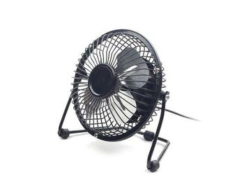 Gembird USB desktop fan 4'', black