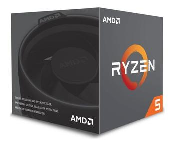 AMD Ryzen 5 2600 6Core/12Thread 3.4 GHz (3.9 GHz Max Boost) 19MB Socket AM4 65W (su aušintuvu AMD Wraith Stealth)
