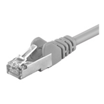 Patch cable CAT5e  FTP, grey, 1m