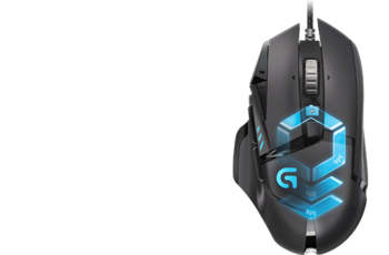 LOGITECH G502 Proteus Spectrum RGB Tunable Gaming Mouse