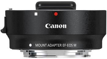 Canon Mount Adapter EF-EOS M - Black