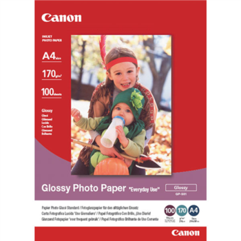 CANON GP-501 glossy photo paper inkjet 200g/m2 A4 100 sheets 1-pack