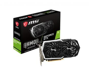 MSI GeForce GTX 1660 Ti ARMOR 6G OC, ARMOR Fan, 6GB GDDR6, HDMI, 3xDP