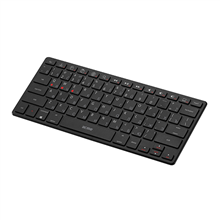 Acme Right Now  BK03 Portable Bluetooth Keyboard, Bluetooth® v3.0, Class 2, Keyboard layout EN/LT/RU, Wireless, No, Wireless connection Yes, 305 g, Bluetooth, Black