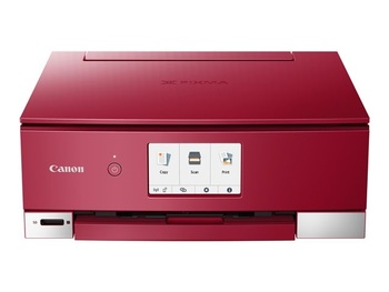CANON Pixma TS8251 Red A4 MFP 3 in 1 print copy scan Cloud Link 10.8cm LC-Display 6ink tanks WLAN 4.800x1.200dpi