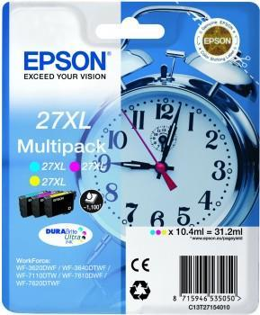 Alarm clock Multipack Epson T2715 C/M/Y 3-colour 27XL DURABrite | 31.2 ml