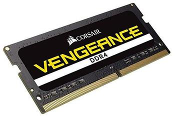Corsair Memory 16GB (1x16GB) DDR4 SODIMM 2400MHz 16-16-16-39 latency and 1.2V